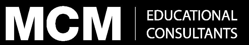 MCM, estudiar en el extranjero. Logo lazo