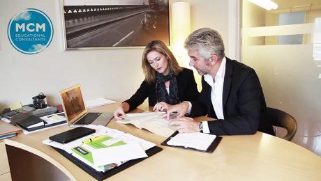 MCM, estudiar en el extranjero. Ana Trinxet y Alex Ferrer.